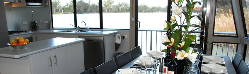 Dine in style overlooking the magnificent scenery
